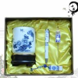 上海信尚陶瓷笔筒小学同学聚会纪念品定制商务礼品套装促销礼品个性定制推荐