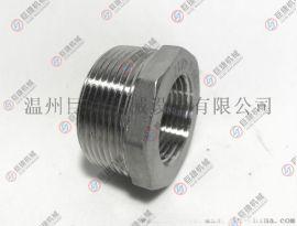 大量现货不锈钢补芯接头 内外丝转接头 304补芯接头 201补芯