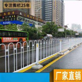 河源市政安全隔离栏 潮州道路栏杆 阳江人行道护栏