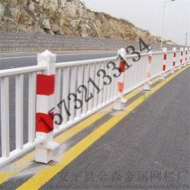 贵州城市交通橡胶底座带反光标美观市政护栏