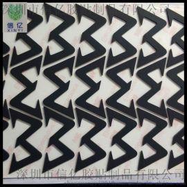 黑色防滑防震硅胶脚垫 硅胶制品