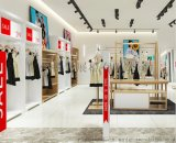 欧式女装爱依服烤漆商场专卖店整体展示柜陈列柜货架