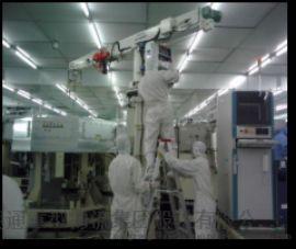 新能源动力电池精密设备无尘室吊装移位定位