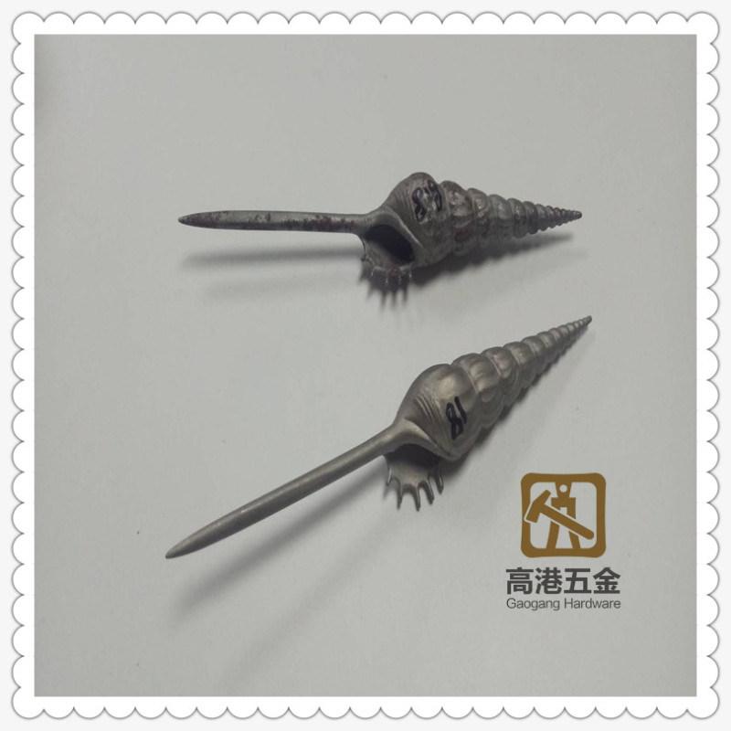 **定制304不锈钢工艺品 欧美饰品 创意海螺