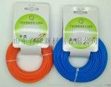 厂家直供割草绳、割草线、尼龙线、尼龙绳