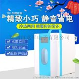 半导体冰箱冷热小冰箱车载冰箱 深圳安南10升
