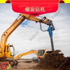 bys9000动力头螺旋钻机,广东中型螺旋机,钻井钻桩基工程螺旋钻机