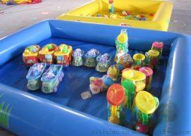 重庆充气沙滩池 海洋球池 玩沙池批发