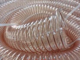 山实38mm耐高压铜钢丝增强除尘钢丝管 塑料软管