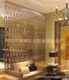 酒店豪华装饰铝板雕刻屏风
