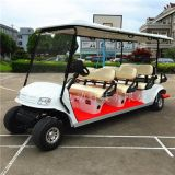 山东青岛8座电动旅游观光车,景区代步游览车,物业巡逻车