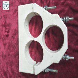 专业生产SMC电缆抱箍 复合材料品字型抱箍 电缆固定夹 150电缆固定夹