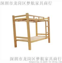 工厂定制双层拖管班学生床 优质学生上下铺床