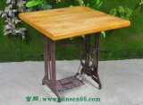 工厂直销胡桃里音乐餐吧家具漫咖啡餐桌椅酒吧实木混搭餐桌可定做(F0EB)