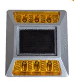 双面铸铝道钉 反光道钉 减速路标 凸起路标 太阳能反光道钉