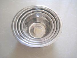 特厚不锈钢汤盆单层不锈钢碗