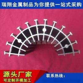 工矿灯吊灯大型太阳花散热器工业铝型材太阳花散热器