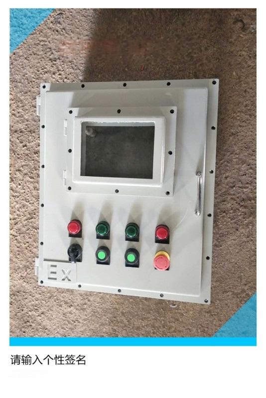 防爆配电箱带可视窗BXMD53-钢板材质铝合金材质