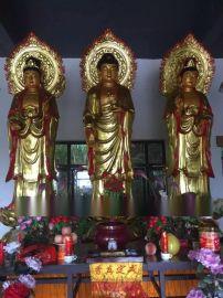铜铸鎏金佛像佛像雕刻大型佛像制作