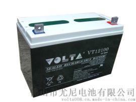 VOLTA沃塔牌12V100AH铅酸蓄电池