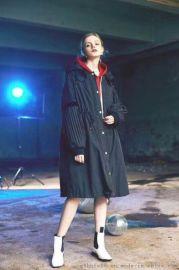 歐美潮流羽絨服品牌折扣 冬季時尚女裝折扣店貨源