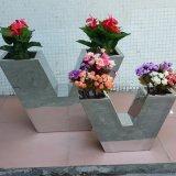 定做不鏽鋼花盆 金屬擺件