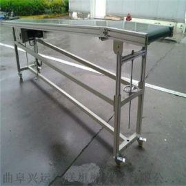 黑色橡胶输送机定制 木箱装车皮带输送机