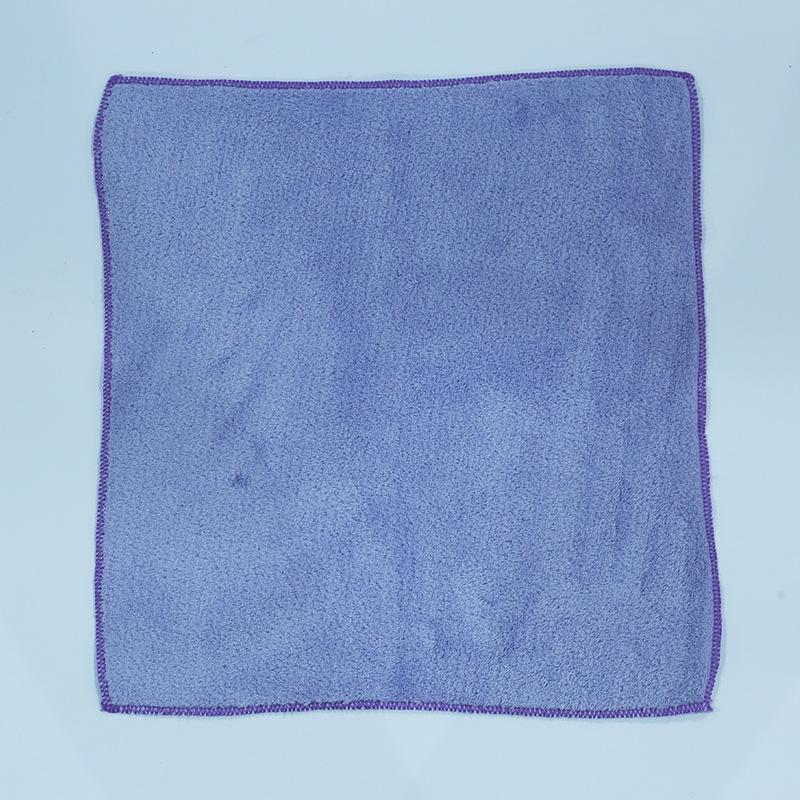 珊瑚绒超细纤维毛巾涤纶美容院洗脸毛巾卫生间理发店吸水包头毛巾