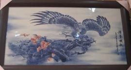 陶瓷瓷板画 青花瓷板画 景德镇陶瓷