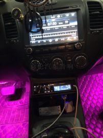 起亚K 3宜春百伦汽车音响改装美国好莱坞低音功放
