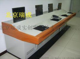 监控操作台双联远程无线控制台厂家 安防集成系统监控台