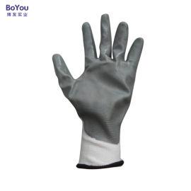 丁腈手套 耐磨耐油 蓝胶手套 浸胶手套 劳保手套