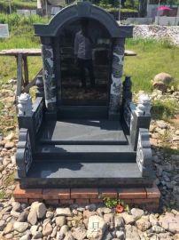 石雕墓碑厂家定制 组合石材石雕墓碑