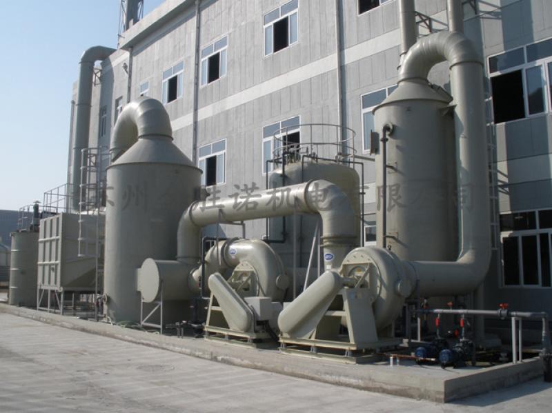 喷淋洗涤塔 低温等离子净化设备