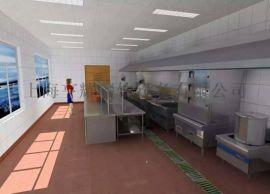 上海买厨房设备 700平方厨房间设备