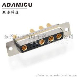 D-SUB 9W4母焊线式连接器 db连接器