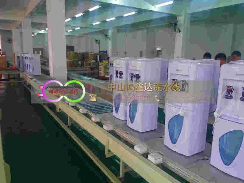山东饮水机生产线,净水器装配线, 加湿器检测老化线