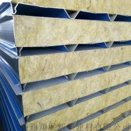 南通岩棉净化板海安 彩钢夹芯板 夹芯板活动房