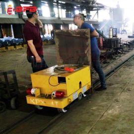上海90吨电动钢包车 码头防水过跨搬运车