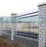 厂家直销黑黄镀锌圆铁管临时隔离防护铁马 公路施工安全移动护栏
