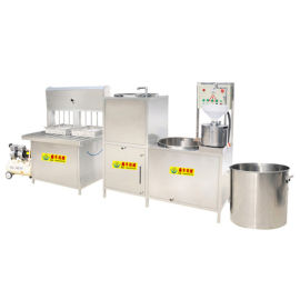 豆腐坊生产线 全自动新型卤水豆腐机  做大豆腐机器