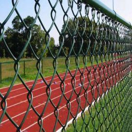 苏州网球场菱形网 组装绿色包塑勾花网 支持厂家定制
