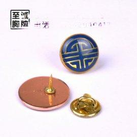 徽章制作 金属滴胶胸牌 青铜金属胸牌制作 定做