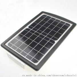 超亮8W LED 一体化太阳能锂电路灯