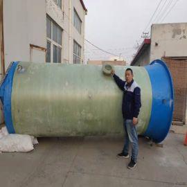 玻璃钢预制一体化泵站 污水泵站