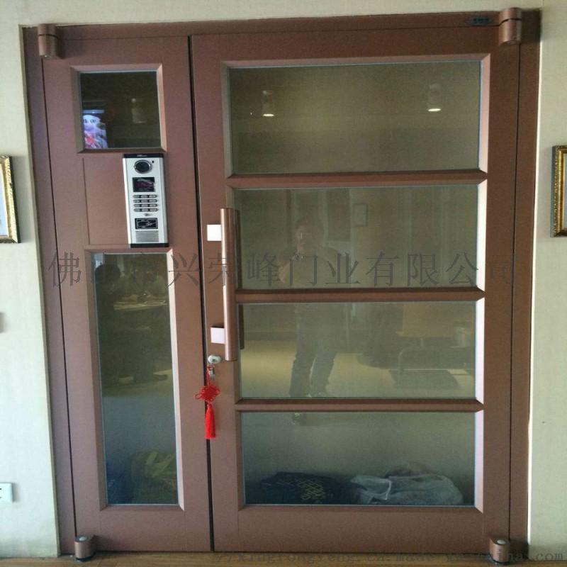 北海鋁型材單元門,小區入戶單元門