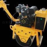 小型手扶压路机单钢压路机