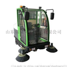 全封闭学校物业驾驶式扫地车 电动工业车间清扫机