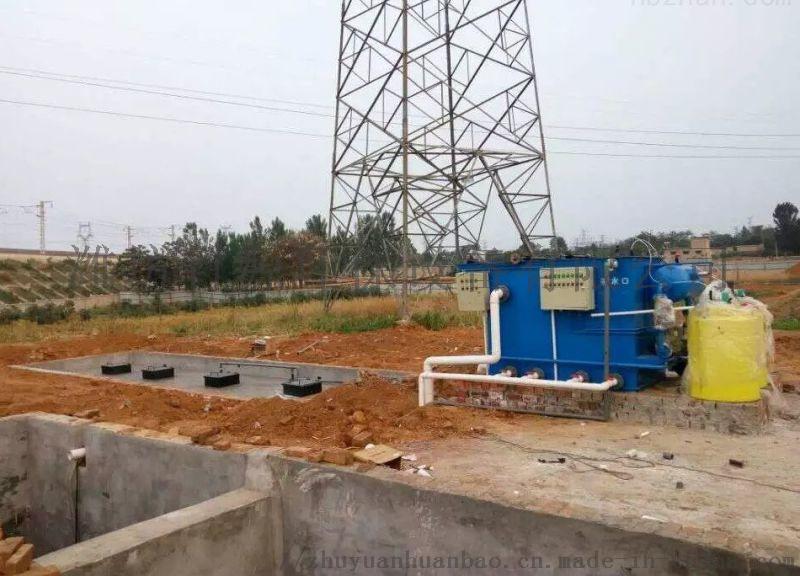 综合废水集中处理设备安装调试