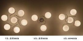 玻璃水晶吸顶灯